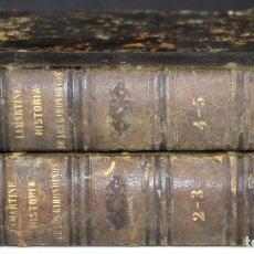 Libros de segunda mano: 8250 - HISTORIA DE LOS GIRONDINOS. 4 TOMOS EN 2 VOLUM(VER DESCRIP). IMP. ILUSTRACIÓN. 1847.. Lote 69903749