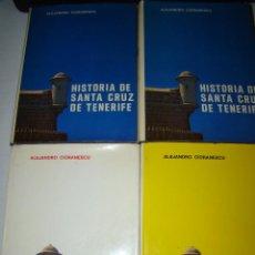 Libros de segunda mano: HISTORIA DE SANTA CRUZ DE TENERIFE - ALEJANDRO CIORANESCU - 1977. Lote 71510107
