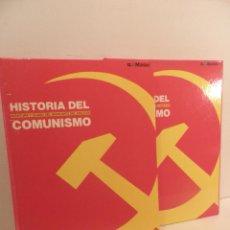 Libros de segunda mano: HISTORIA DEL COMUNISMO - AVENTURA Y OCASO DEL GRAN MITO DEL SIGLO XX - EL MUNDO 2 TOMOS, COMPLETA .. Lote 71628755