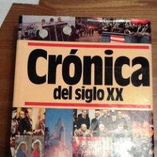 Libros de segunda mano: CRONICA DEL SIGLO XX.. Lote 134148190