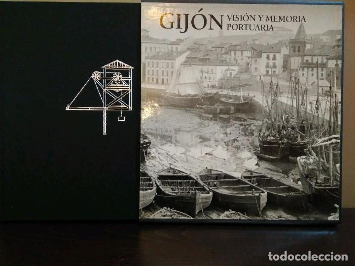 GIJON VISION Y MEMORIA PORTUARIA/ CON ESTUCHE (Libros de Segunda Mano - Historia Moderna)