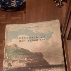 Libros de segunda mano: HISTORIA DE SAN SEBASTIÁN. Lote 171006073