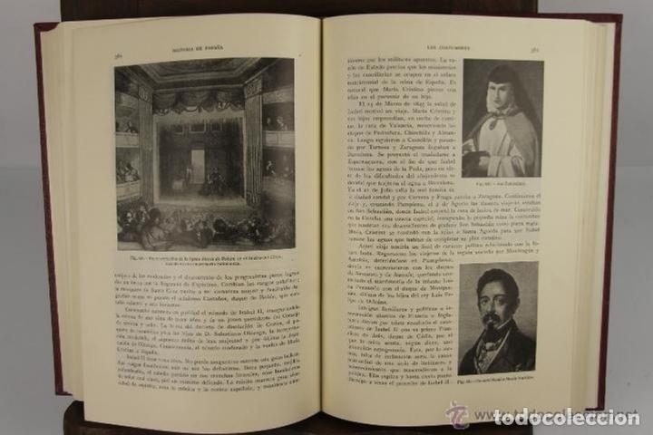 Libros de segunda mano: 4525- HISTORIA DE ESPAÑA Y SU INFLUENCIA EN LA HISTORIA UNIVERSAL. EDIT. SALVAT. VV.AA. 1943. 12 VOL - Foto 5 - 41566374