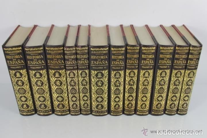 Libros de segunda mano: 4525- HISTORIA DE ESPAÑA Y SU INFLUENCIA EN LA HISTORIA UNIVERSAL. EDIT. SALVAT. VV.AA. 1943. 12 VOL - Foto 8 - 41566374