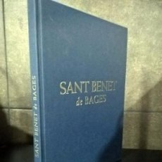 Libros de segunda mano: FRANCESCA ESPAÑOL BERTRAN .SANT BENET DE BAGES.. Lote 75827747