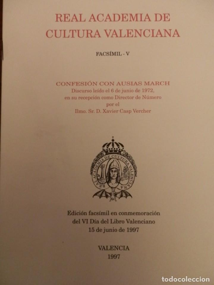 REAL ACADEMIA DE CULTURA VALENCIANA. 13 LIBROS PRESENTACIONES DISCURSOS,VER IMAGENES (Libros de Segunda Mano - Historia Moderna)