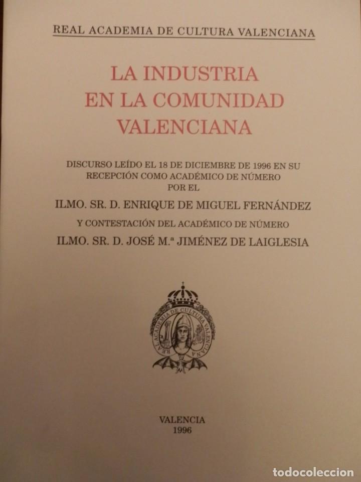 Libros de segunda mano: REAL ACADEMIA DE CULTURA VALENCIANA. 13 libros PRESENTACIONES DISCURSOS,VER IMAGENES - Foto 5 - 76903959