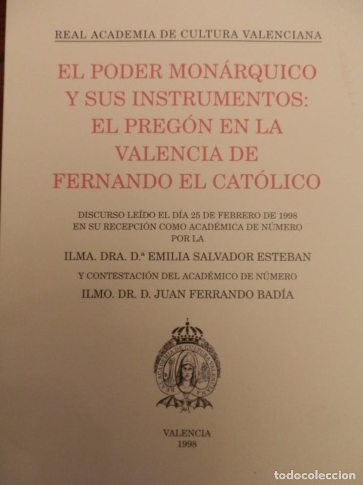 Libros de segunda mano: REAL ACADEMIA DE CULTURA VALENCIANA. 13 libros PRESENTACIONES DISCURSOS,VER IMAGENES - Foto 9 - 76903959