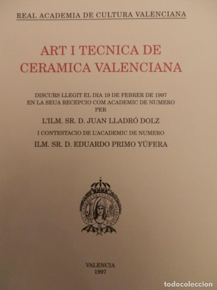 Libros de segunda mano: REAL ACADEMIA DE CULTURA VALENCIANA. 13 libros PRESENTACIONES DISCURSOS,VER IMAGENES - Foto 11 - 76903959