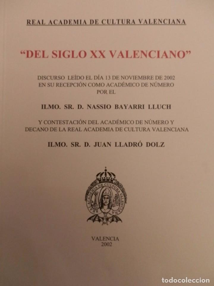 Libros de segunda mano: REAL ACADEMIA DE CULTURA VALENCIANA. 13 libros PRESENTACIONES DISCURSOS,VER IMAGENES - Foto 13 - 76903959