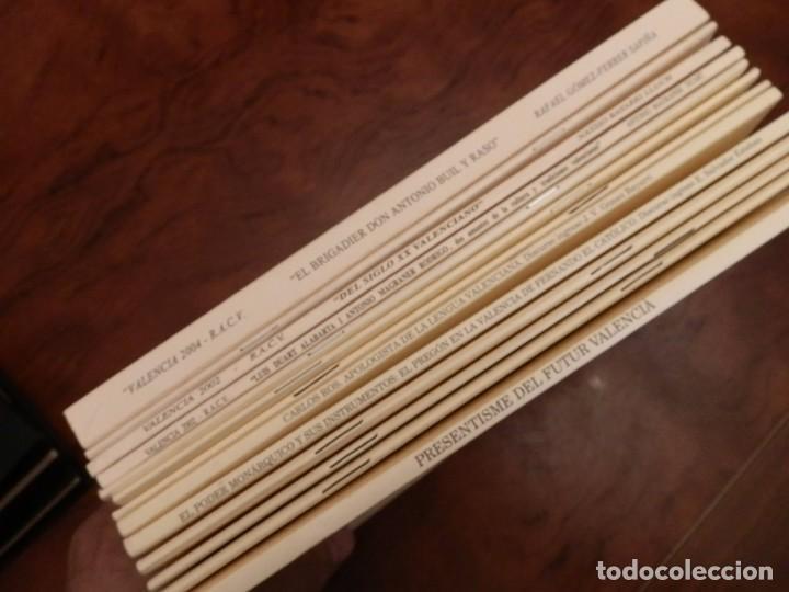 Libros de segunda mano: REAL ACADEMIA DE CULTURA VALENCIANA. 13 libros PRESENTACIONES DISCURSOS,VER IMAGENES - Foto 14 - 76903959