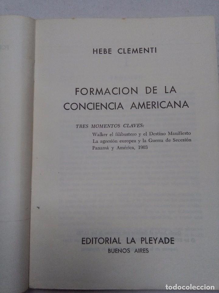 Libros de segunda mano: Formación de la conciencia americana. Tres momentos claves en la historia de America Latina - Foto 5 - 77345593