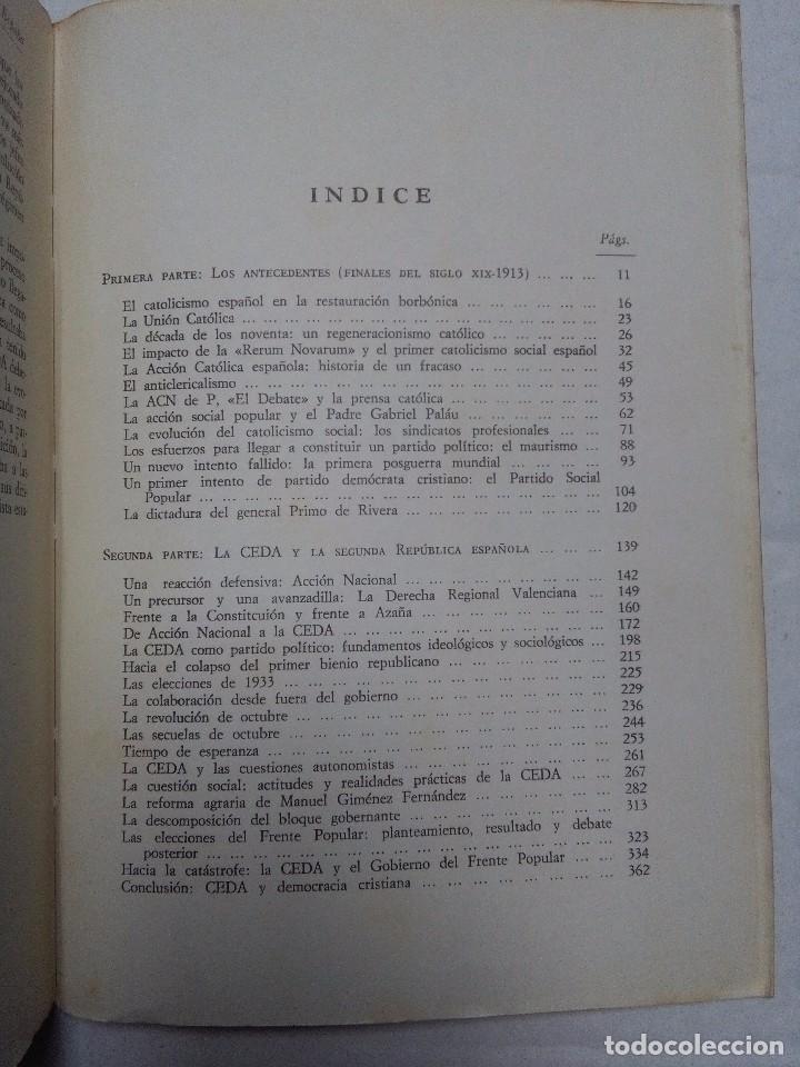 Libros de segunda mano: Historia de la Democracia Cristiana en España. Javier Tusell. 2 tomos. ED. Cuadernos para el dialogo - Foto 2 - 77347073