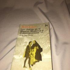 Libros de segunda mano: LOS JUDÍOS EN LA ESPAÑA MODERNA Y CONTEMPORÁNEA. DE JULIO CARO BAROJA. Lote 77431498