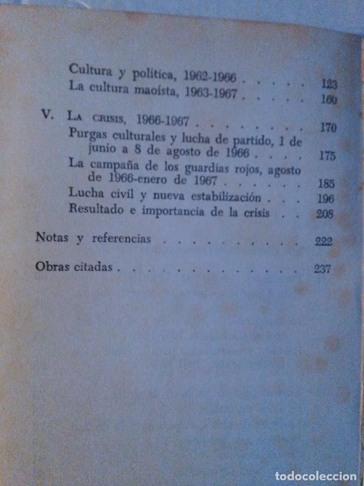 Libros de segunda mano: LA REVOLUCION CULTURAL Y LA CRISIS CHINA. P. CAVENDISH Y J,GRAY. ED. ARIEL, 1970 - Foto 4 - 77850885