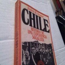 Libros de segunda mano: CHILE. HISTORIA DE UNA EXPERIENCIA SOCIALISTA. KRAMER ANDRES M. ED. PENINSULA, 19773. Lote 225590136