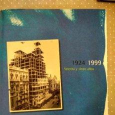 Libros de segunda mano: TELEFONICA 1924 - 1999 SETENTA Y CINCO AÑOS. Lote 78027161