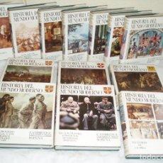 Libros de segunda mano: HISTORIA DEL MUNDO MODERNO (13 VOLS.) COMPLETA. - VV.AA.. Lote 78139909