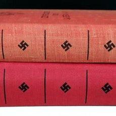 Libros de segunda mano: EDITOR LUÍS DE CARALT. 2 VOLÚMENES. (VER DESCRIPCIÓN). ADOLF HITLER. 1953/1954.. Lote 78883001
