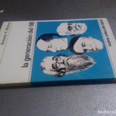 Libros de segunda mano: LA GENERACION DEL 98-ANTONIO F. MOLINA-NUEVA COLECCION LABOR-1968-INTERESANTISIMA DEDICATORIA. Lote 79172121