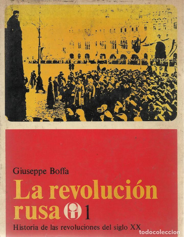LA REVOLUCIÓN RUSA -II VOL-, GIUSEPPE BOFFA (Libros de Segunda Mano - Historia Moderna)