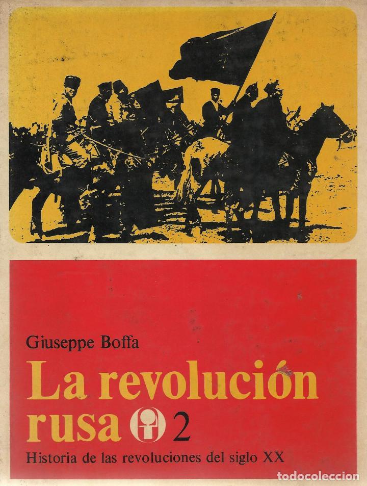 Libros de segunda mano: LA REVOLUCIÓN RUSA -II VOL-, Giuseppe Boffa - Foto 2 - 79647157