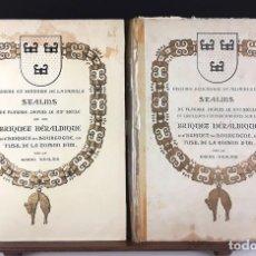 Libros de segunda mano: HISTOIRE DE LA FAMILLE STALINS. 2 VOLÚMENES(VER DESCRIPCIÓN). BARON STALINS. VARIAS EDIT. 1939/1945.. Lote 79753637
