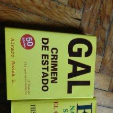 Libros de segunda mano: GAL CRIMEN DE ESTADO Y ETA NACIO EN UN SEMINARIO. . Lote 80357046