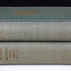 Libros de segunda mano: EDITORIAL AEDOS. 2 VOLÚMENES. (VER DESCRIPCIÓN). VV. AA. 1958/1960.. Lote 80692834