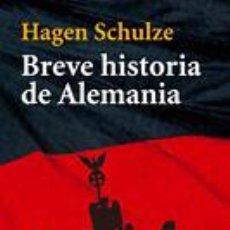 Libros de segunda mano: EUROPA - BREVE HISTORIA DE ALEMANIA. Lote 81917896
