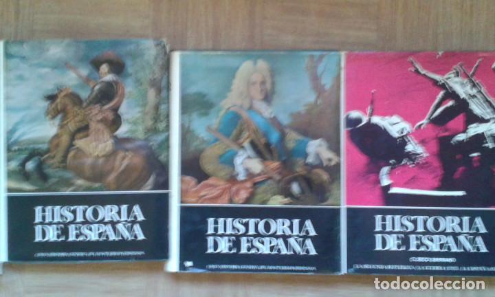 HISTORIA DE ESPAÑA. INSTITUTO GALLACH. 3 DE 6 TOMOS. (Libros de Segunda Mano - Historia Moderna)