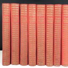 Libros de segunda mano: BARCELONA DIVULGACIÓN HISTÓRICA. 8 TOMOS(VER DESCRIP). VV. AA. EDIC. AYMA. 1945/1951.. Lote 82374680