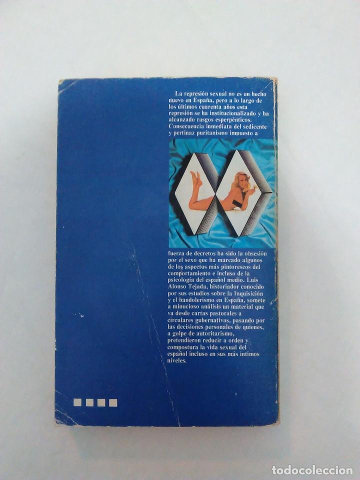 Libros de segunda mano: La represion sexual en la España de Franco - L. Alonso Tejada - Foto 2 - 82806936