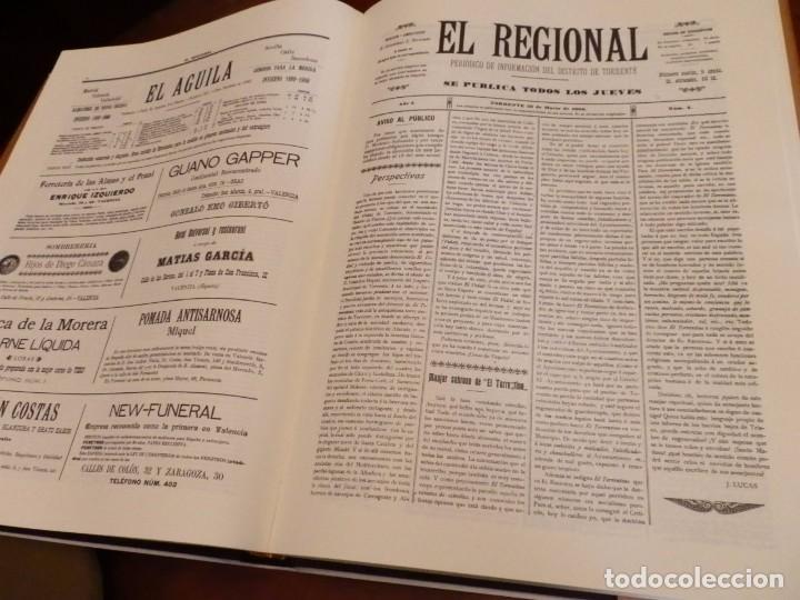 Libros de segunda mano: TORRENT Y LA SEUA PREMSA ENTRE DOS SEGLES 1890-1910,+500 PP, GRAN FORMATO 35X47 - Foto 11 - 84503372