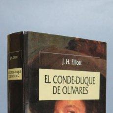 Libros de segunda mano: EL CONDE-DUQUE DE OLIVARES. J. H. ELLIOT. Lote 85233476