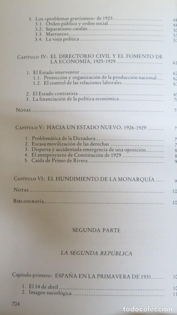 Libros de segunda mano: LA CRISIS DEL ESTADO: DICTADURA, REPUBLICA, GUERRA. 1923--1939 - Foto 3 - 85235208