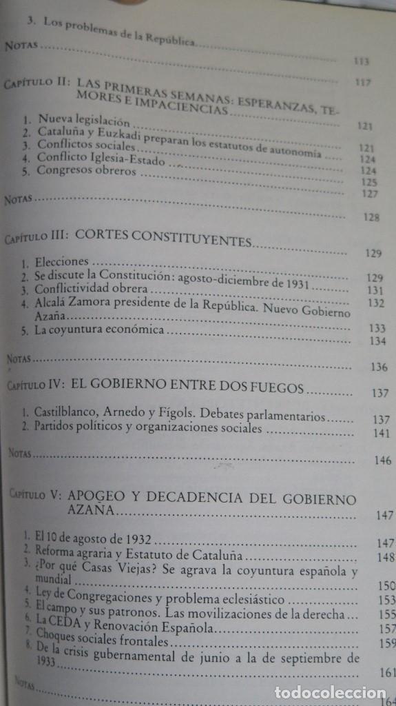 Libros de segunda mano: LA CRISIS DEL ESTADO: DICTADURA, REPUBLICA, GUERRA. 1923--1939 - Foto 4 - 85235208
