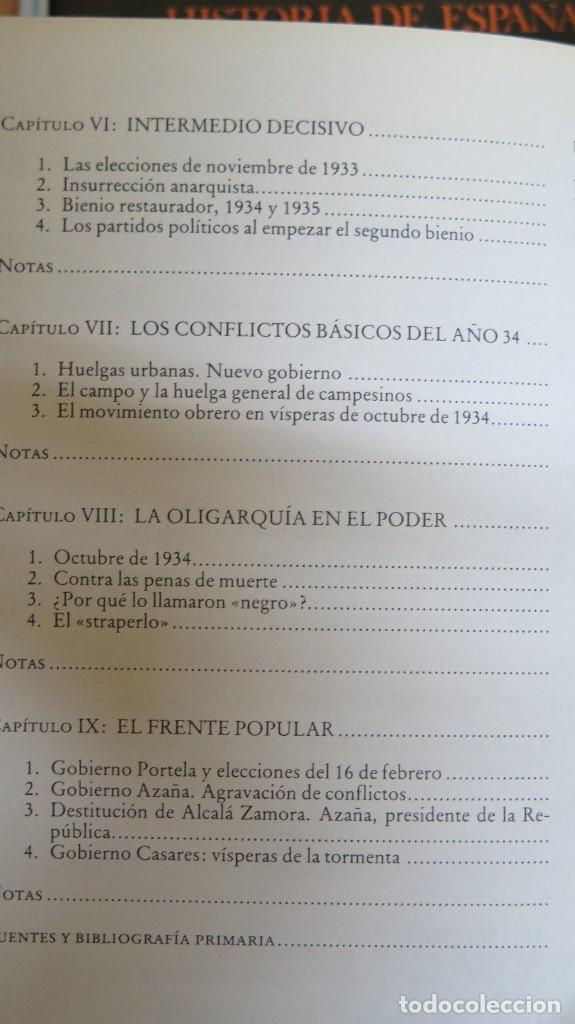 Libros de segunda mano: LA CRISIS DEL ESTADO: DICTADURA, REPUBLICA, GUERRA. 1923--1939 - Foto 5 - 85235208