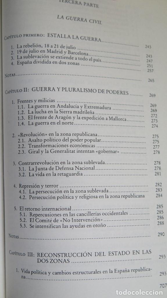 Libros de segunda mano: LA CRISIS DEL ESTADO: DICTADURA, REPUBLICA, GUERRA. 1923--1939 - Foto 6 - 85235208