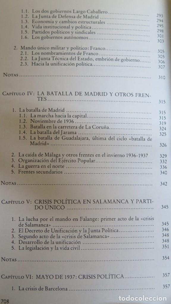 Libros de segunda mano: LA CRISIS DEL ESTADO: DICTADURA, REPUBLICA, GUERRA. 1923--1939 - Foto 7 - 85235208