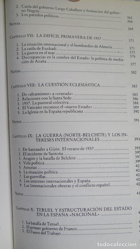 Libros de segunda mano: LA CRISIS DEL ESTADO: DICTADURA, REPUBLICA, GUERRA. 1923--1939 - Foto 8 - 85235208