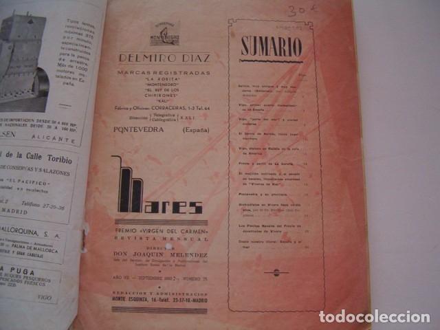 Libros de segunda mano: Mares número 75. Revista mensual. RM80582. - Foto 3 - 86376596