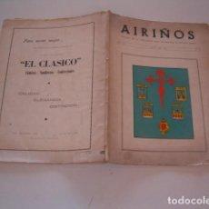 Libros de segunda mano: AIRIÑOS Nº 17. REVISTA DE LA ASOCIACIÓN CASA DE GALICIA DE BUENOS AIRES, JULIO DE 1964. RM80584. . Lote 86377164