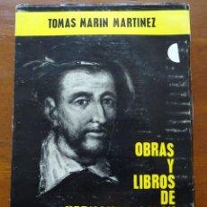 Libros de segunda mano: OBRAS Y LIBROS DE HERNANDO COLÓN, TOMÁS MARÍN MARTÍNEZ. Lote 129677168
