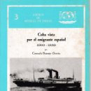 Libros de segunda mano: CUBA VISTA POR EL EMIGRANTE ESPAÑOL 1900-1959 (C. NARANJO 1987) SIN USAR. Lote 88149376