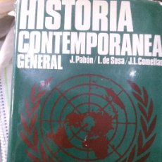 Libros de segunda mano - HISTORIA CONTEMPORANEA , J. PABON ,L.DE LOSADA. - 88589092