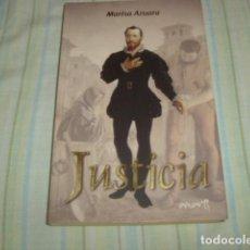 Libros de segunda mano: JUSTICIA , MARISA AZUARA. Lote 88999372