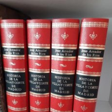 Libros de segunda mano: HISTORIA DE LA VILLA Y CORTE DE MADRID. ED. FACSIMIL DE LA DE 1860.. Lote 89397984