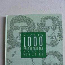 Libros de segunda mano: LIBRO COLECCIONABLES LOS 1000 PROTAGONISTAS DEL SIGLO XX DE EL PAÍS. Lote 90223656