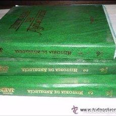 Libros de segunda mano: LOTE 3 TOMOS HISTORIA DE ANDALUCIA. Lote 90357068